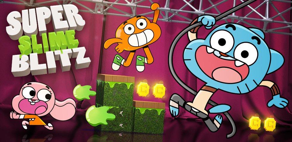 super slime blitz gumball apps cartoon network mobile apps
